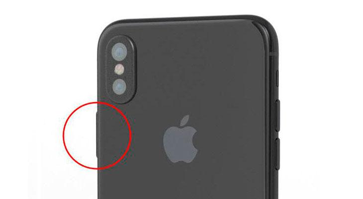 Nuevos renders del iPhone 8 sugieren que el Touch ID podría ir en el botón de encendido