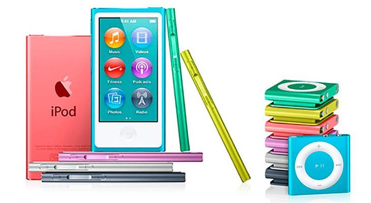 Apple pone fin al iPod nano y al iPod shuffle y rebaja el iPod touch