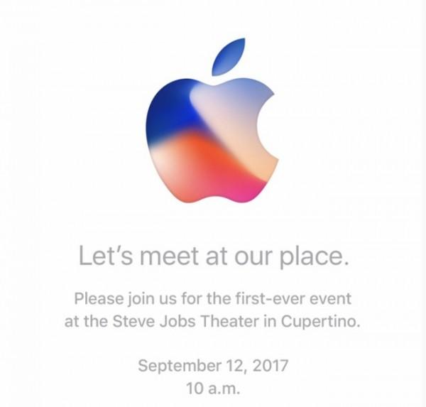 Invitación Keynote iPhone 8