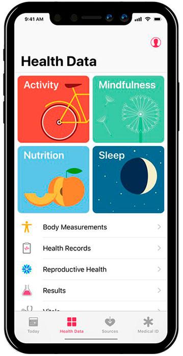 iPhone-8-App-salud
