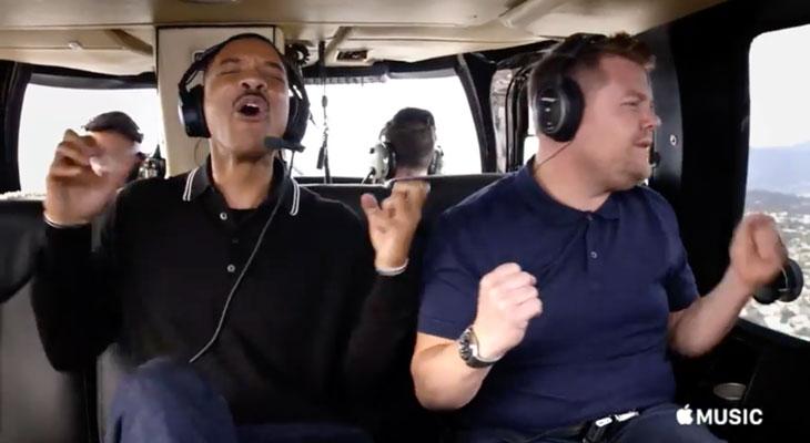 Sigue la promoción de Carpool Karaoke con dos nuevos vídeos