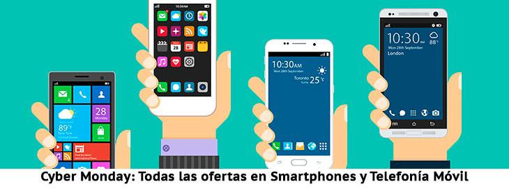 Cyber Monday: Smartphones y Móviles