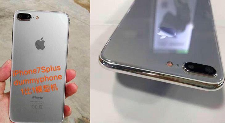 Nuevas fotos de una maqueta lo confirman: el iPhone 7s Plus será de cristal