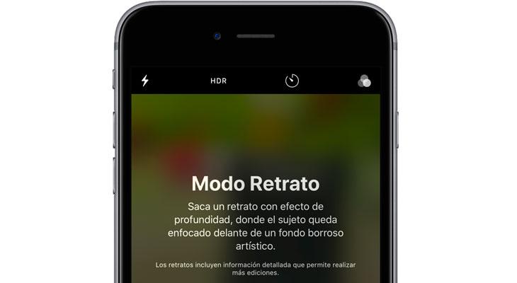 iOS 11 permite quitar el modo retrato después de hacer una foto