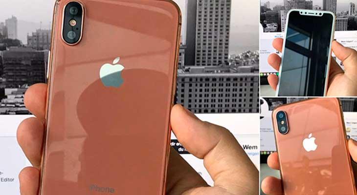 ¿iPhone 8 en color cobre? Esta maqueta muestra como sería
