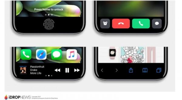 Área de función iPhone-8
