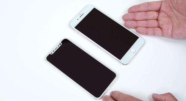 El iPhone 8 y el iPhone 7s mostrados en todo su esplendor en estos vídeos