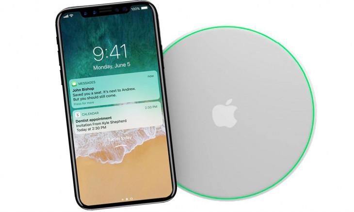 Apple limitará la carga inalámbrica del iPhone 8 a 7,5 W
