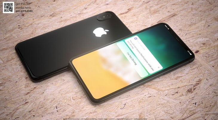 Se filtra una fotografía del módulo 3D del iPhone 8
