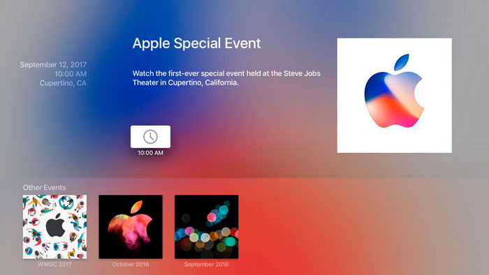 Apple-Events