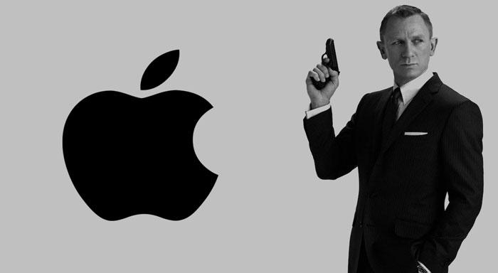 Apple-James-Bond