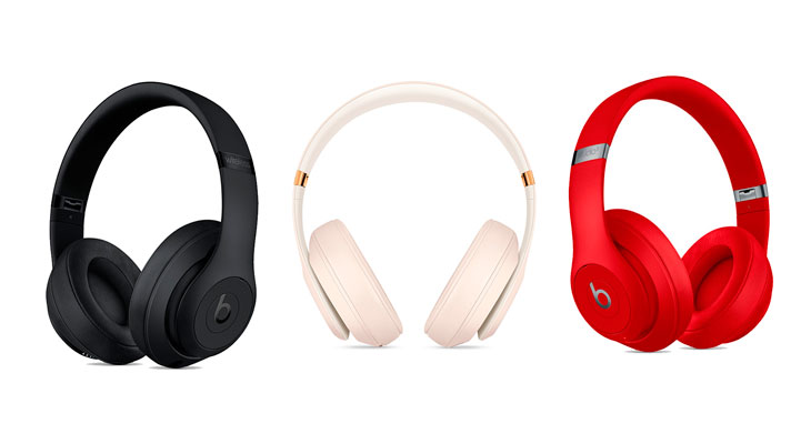 Beats lanza Studio3 Wireless con Cancelación de Ruido Adaptativa Real y chip W1