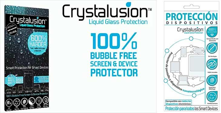 Protector de cristal liquido - Crystalusion