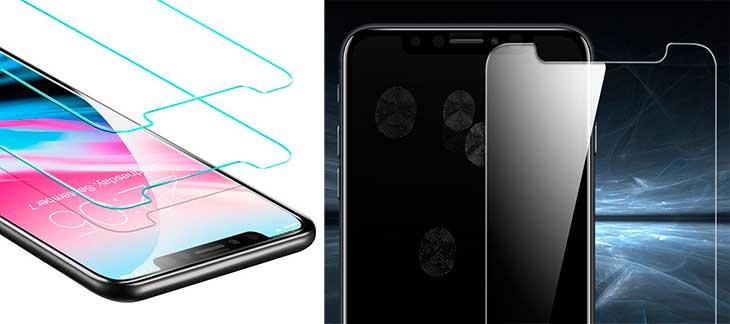 Protector de cristal templado barato para iPhone X - ESR
