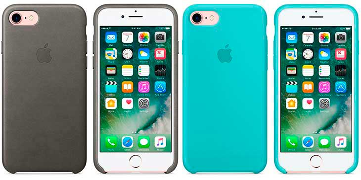 Funda oficial Apple para iPhone 8 y 8 Plus