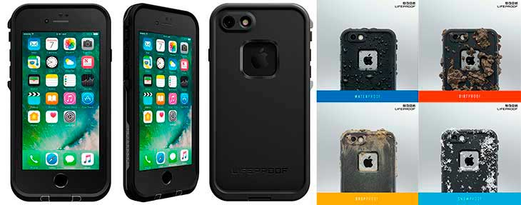 Funda impermeable para iPhone 8 y 8 Plus - LifeProof Fre