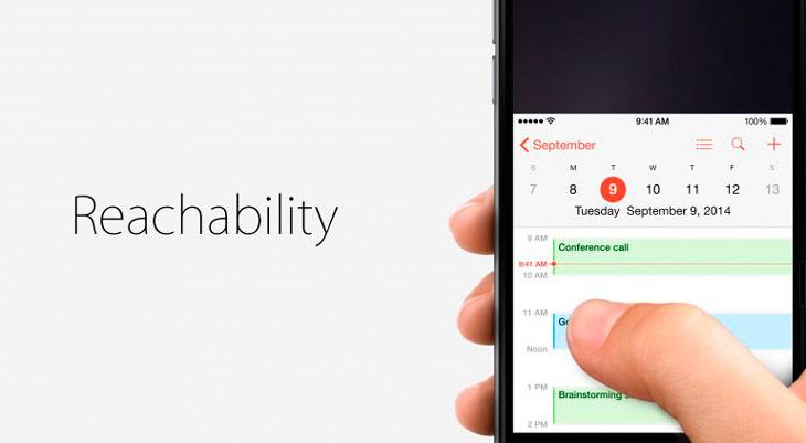 El iPhone X podría incluir la función Reachability