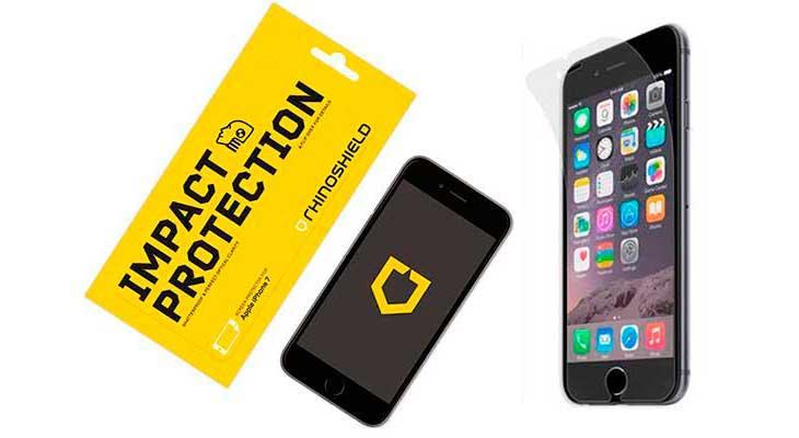 Protector de pantalla para iPhone 8 y 8 Plus con mejor relación calidad-precio - RhinoShield Impact Protector