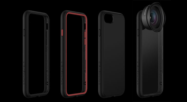 Funda Modular para iPhone X - RhinoShield Mod Case