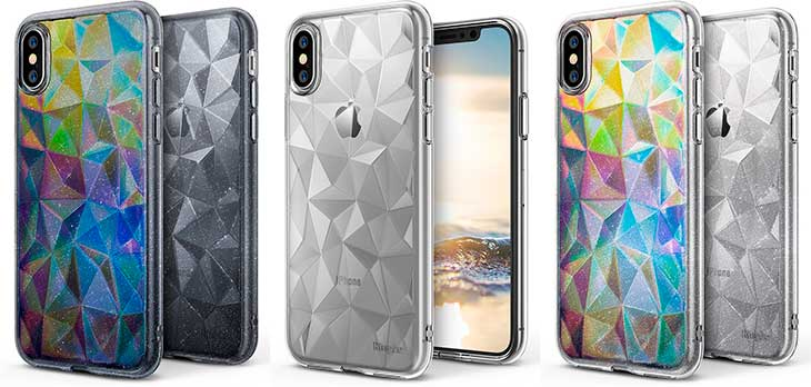 Funda Diamante para iPhone X - Ringke Air Prism