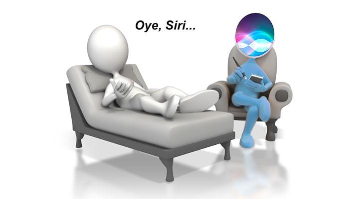 Apple quiere que Siri también sea nuestra psicóloga particular