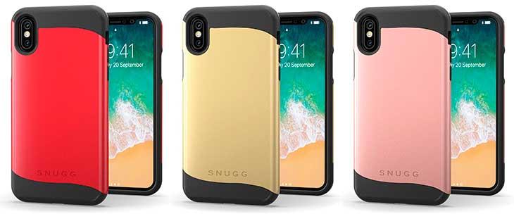 Bumper de doble capa para iPhone X - Snugg Infinity