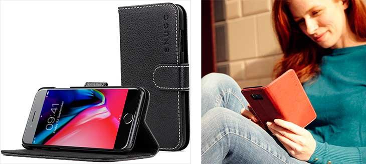 Funda-Cartera para iPhone 8 y 8 Plus - Snugg Legacy Range
