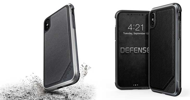 Funda Super Resistente para iPhone X - X-Doria Defense Lux Series
