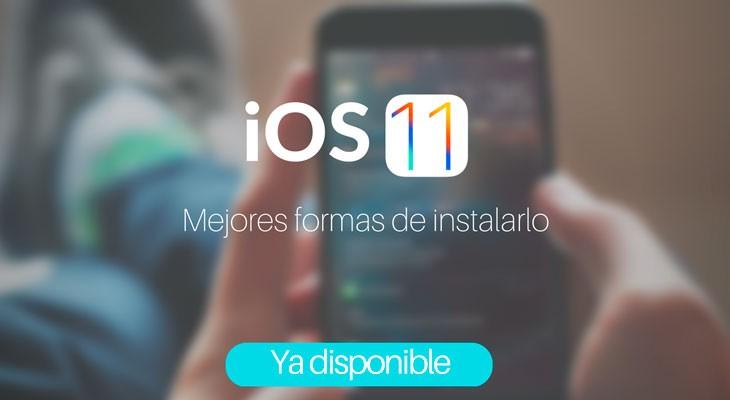 iOS 11 disponible para descargar, cómo actualizar de la mejor manera