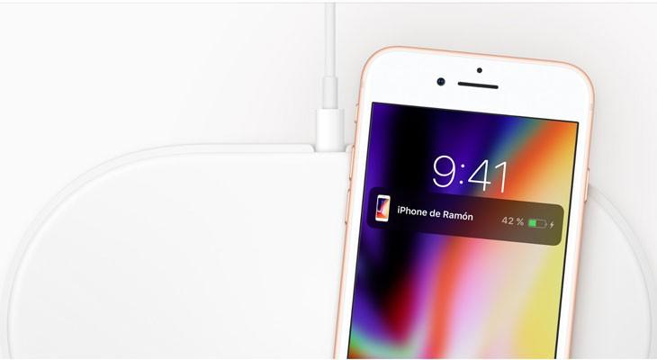 La carga inalámbrica del iPhone 8 y el iPhone X pronto será más rápida