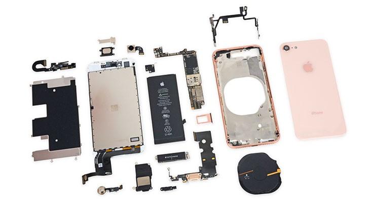 iFixit nos muestra las interioridades del iPhone 8