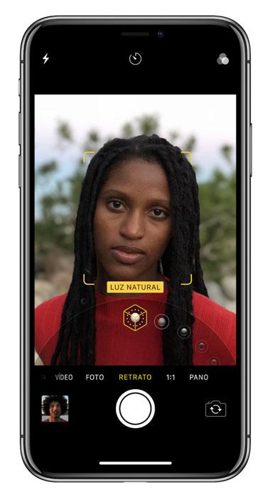 iPhone X Iluminación Retratos