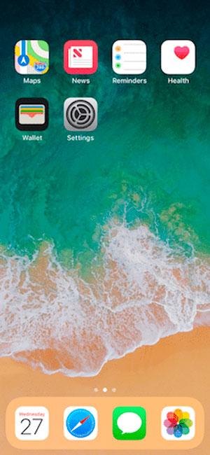 iPhone-X-Pantalla-Inicio