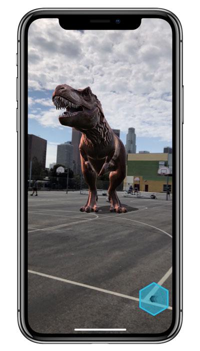 iPhone X Realidad Aumentada