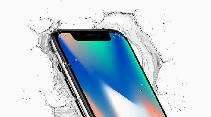iPhone X Resistencia al Agua