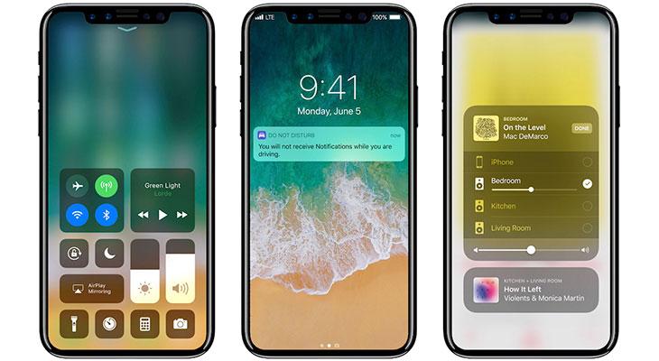 iOS 11 GM revela información sobre Apple Pay, el chip A11, la RAM y la carga inalámbrica del iPhone X