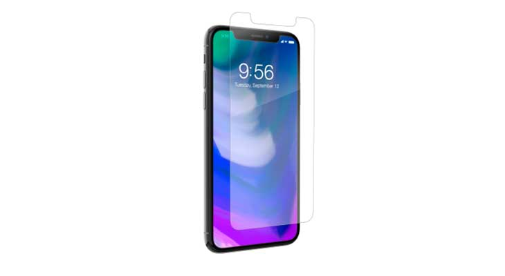 Protector de pantalla premium para iPhone X - ZAGG invisibleSHIELD Glass+