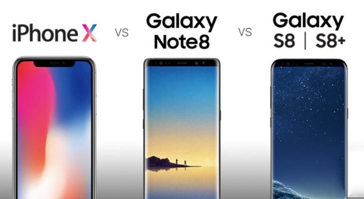 El iPhone X fulmina a los Galaxy Note 8 y S8 en los primeros test de rendimiento