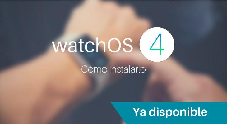 watchOS 4 disponible para descargar, así puedes actualizar tu Apple Wacth