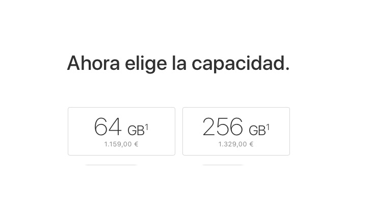 64 Gb o 256 Gb ¿Qué capacidad de iPhone elegir?