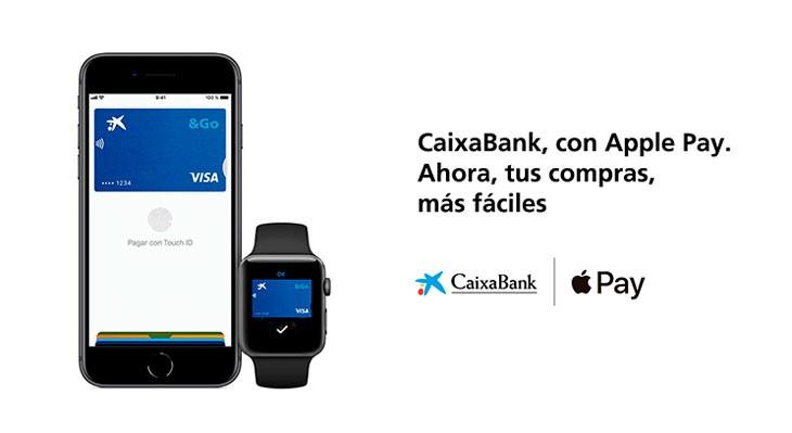 Apple Pay ya está disponible para los clientes de CaixaBank