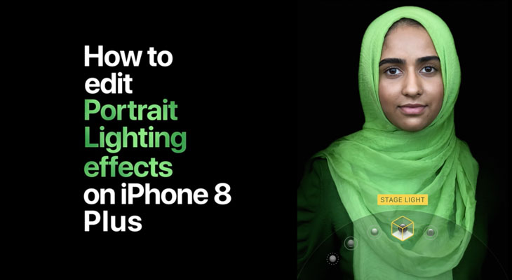 Apple nos enseña a usar el modo Iluminación de Retratos del iPhone 8 Plus y el iPhone X