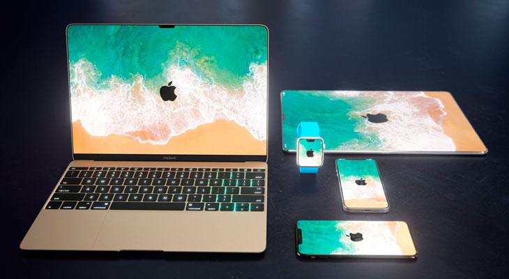 ¿Y si Apple adaptara el diseño del iPhone X a toda su línea de productos?