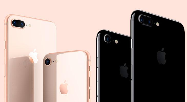 El iPhone 7 se está vendiendo más que el iPhone 8