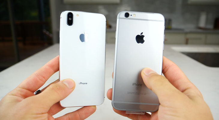Cómo hacer que tu iPhone 6 o 6s parezca un iPhone X