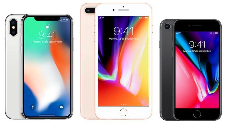 Apple podría reducir la producción del iPhone 8 al 50% para centrarse en el iPhone X