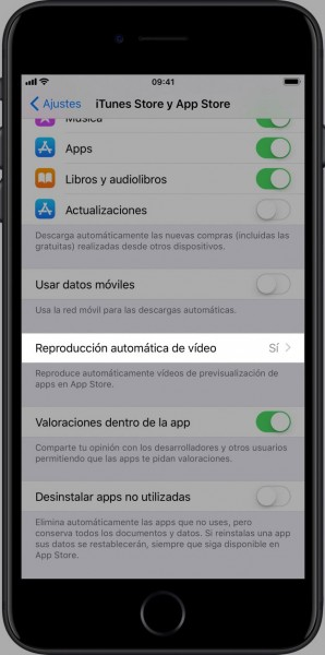 quitar-reproduccion-automatica-videos-app-store