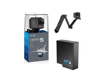Pack GoPro Hero5 Black + Soporte 3-Way + Batería de repuesto