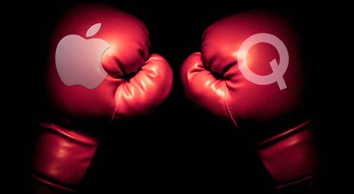 Cruce de demandas entre Apple y Qualcomm