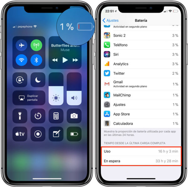 How hard iPhone X battery